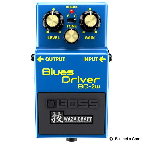 BOSS Guitar Sound Effect [BD-2W] - Gitar Stompbox Effect